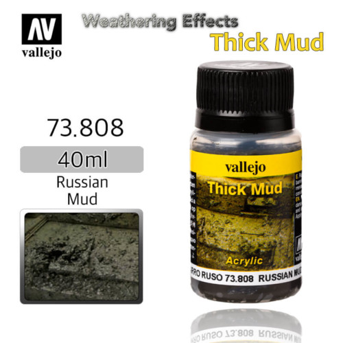 Vallejo 73808 Russian Thick Mud Weathering Effects