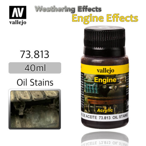 Vallejo 73813 Oil Stains Engine Weathering Effects
