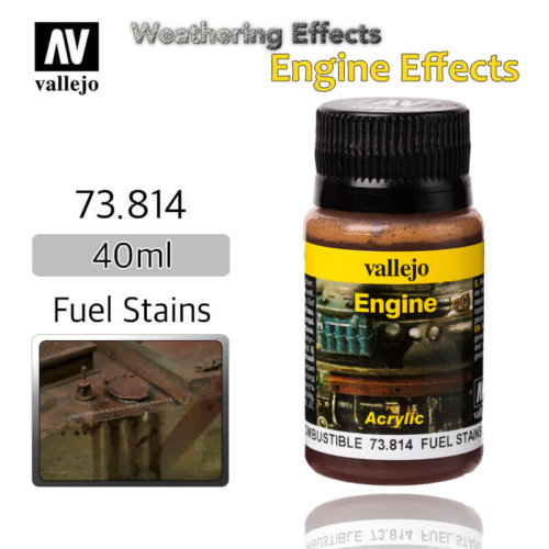 Vallejo 73814 Fuel Stains Engine Weathering Effects