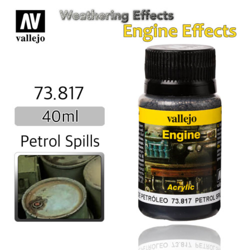 Vallejo 73817 Petrol Spills Engine Weathering Effects