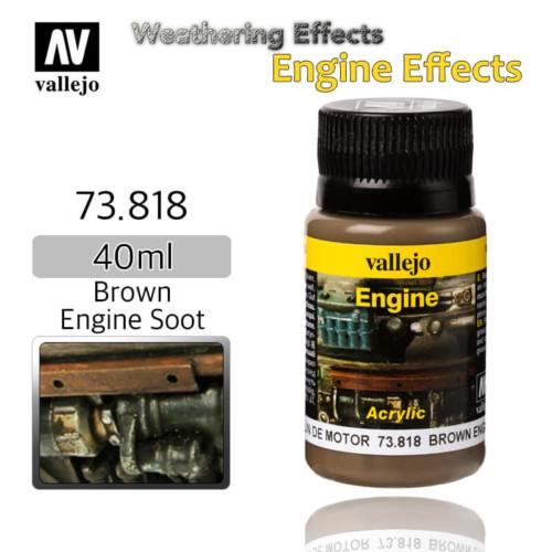 Vallejo 73818 Brown Engine Soot Weathering Effects