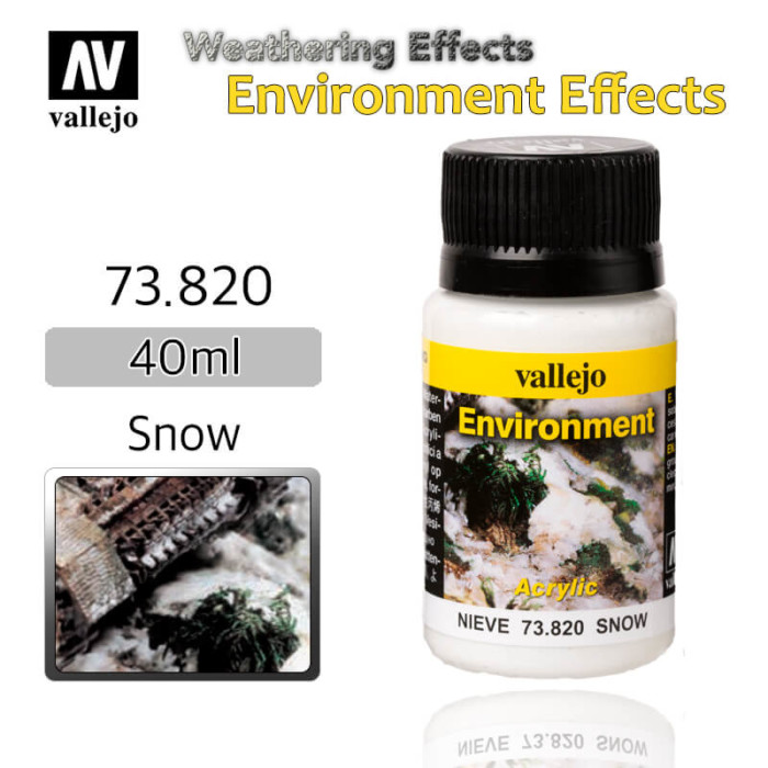 Vallejo 73820 Snow Environment Weathering Effects