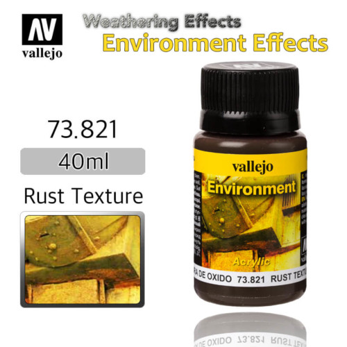 Vallejo 73821 Rust Texture Environment Weathering Effects