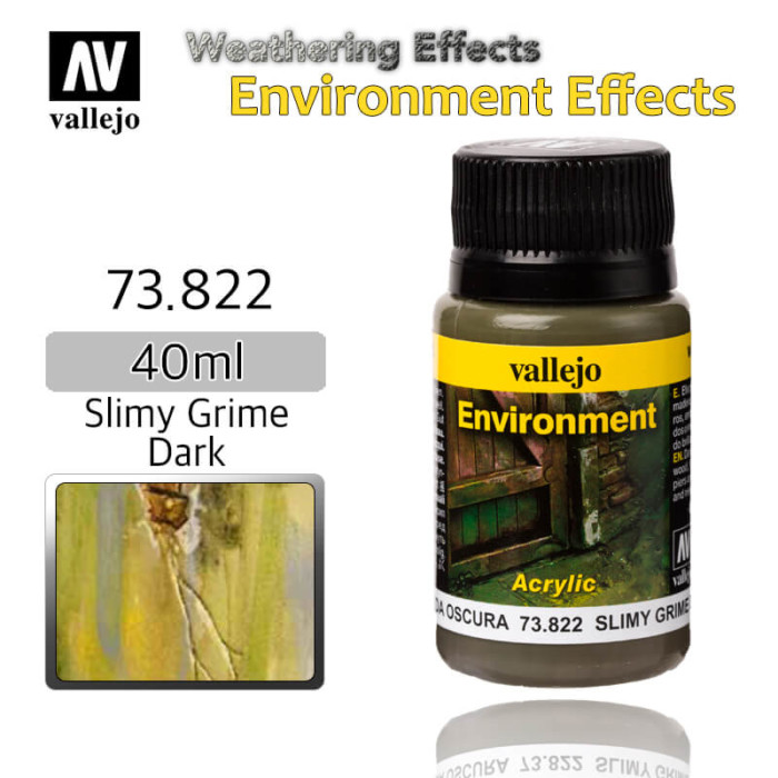 Vallejo 73822 Slimy Grime Dark Environment Weathering Effects