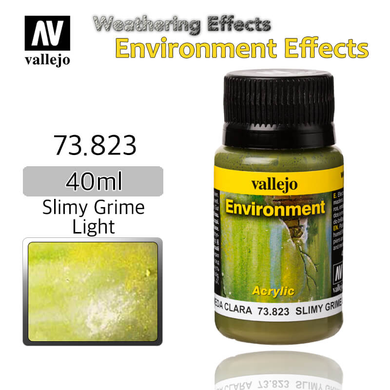 Vallejo 73823 Slimy Grime Light Environment Weathering Effects
