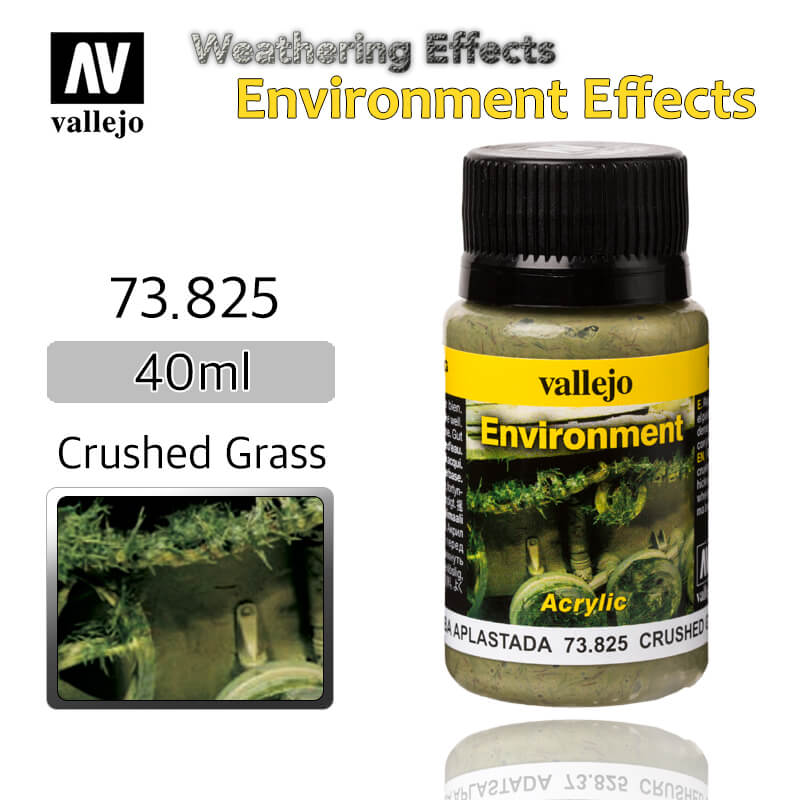 Vallejo 73825 Crushed Grass Environment Weathering Effects