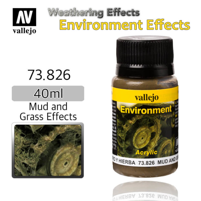Vallejo 73826 Mud and Grass Environment Weathering Effects