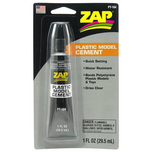 Κόλλα ZAP Plastic Model Cement 1fl 29.5ml PT-104