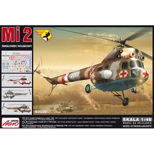Aeroplast 148 Mil Mi-2 Navy Helicopter AP90038