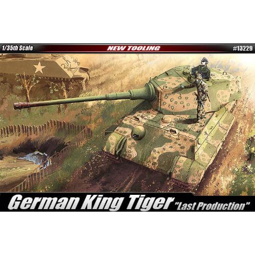 ACADEMY 13229 1/35 GERMAN KING TIGER (LAST PRODUCTION)