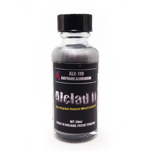 Alclad2 30ml Airframe Aluminium Μεταλλικό χρώμα Lacquer ALC-119
