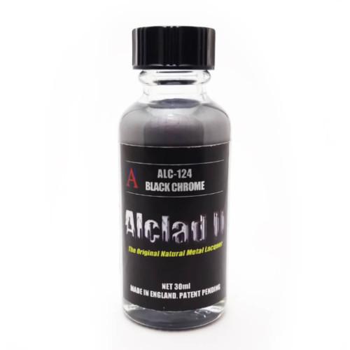 Alclad2 30ml Black Chrome Μεταλλικό χρώμα Lacquer ALC-124