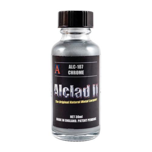 Alclad2 30ml Chrome Μεταλλικό χρώμα Lacquer ALC-107