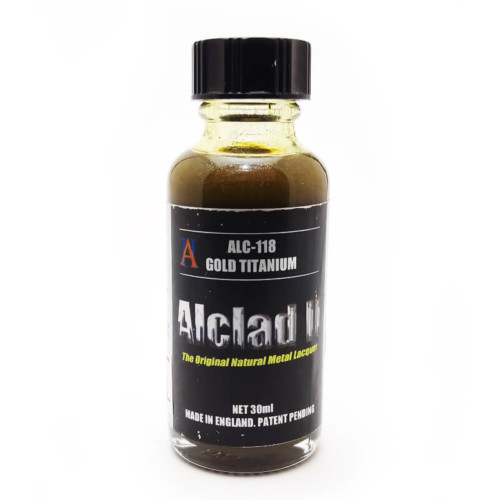 Alclad2 30ml Gold Titanium Μεταλλικό χρώμα Lacquer ALC-118