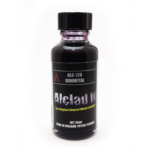 Alclad2 30ml Gun Metal Μεταλλικό χρώμα Lacquer ALC-120