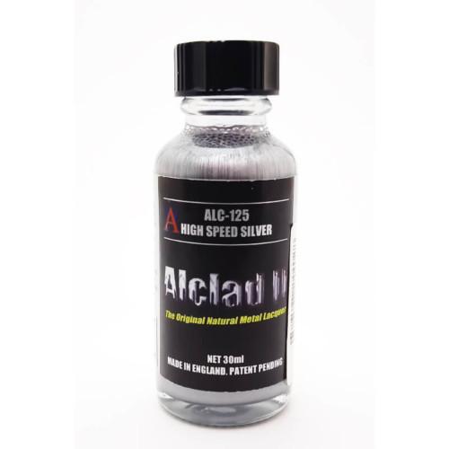 Alclad2 30ml High Speed Silver Μεταλλικό χρώμα Lacquer ALC-125