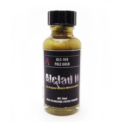 Alclad2 30ml Pale Gold Μεταλλικό χρώμα Lacquer ALC-108
