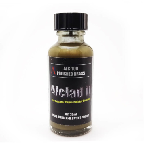 Alclad2 30ml Polished Brash Μεταλλικό χρώμα Lacquer ALC-109
