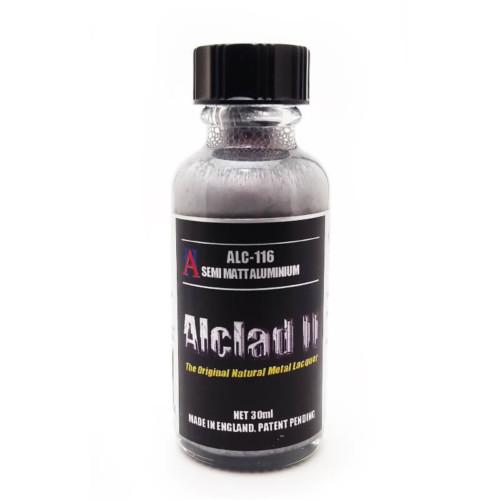 Alclad2 30ml Semi Matt Aluminium Μεταλλικό χρώμα Lacquer ALC-116