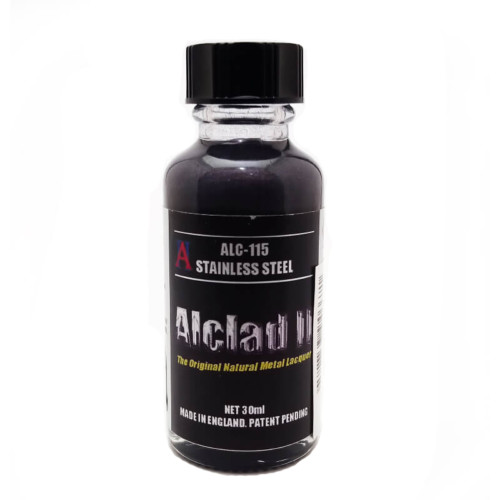 Alclad2 30ml Stainless Steel Μεταλλικό χρώμα Lacquer ALC-115