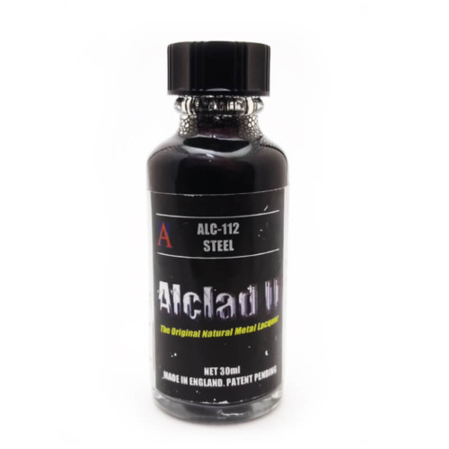 Alclad2 30ml Steel Μεταλλικό χρώμα Lacquer ALC112
