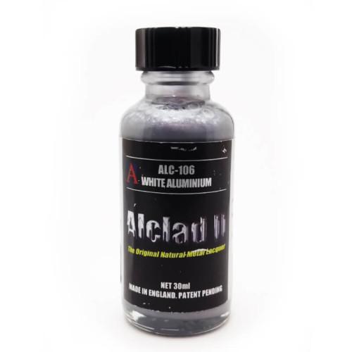 Alclad2 30ml White Aluminium Μεταλλικό χρώμα Lacquer ALC-106