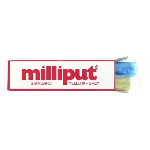 Milliput Standart 490 Εποξικος Στοκος Μοντελισμου (Yellow-Grey) 4oz (113.4gr)