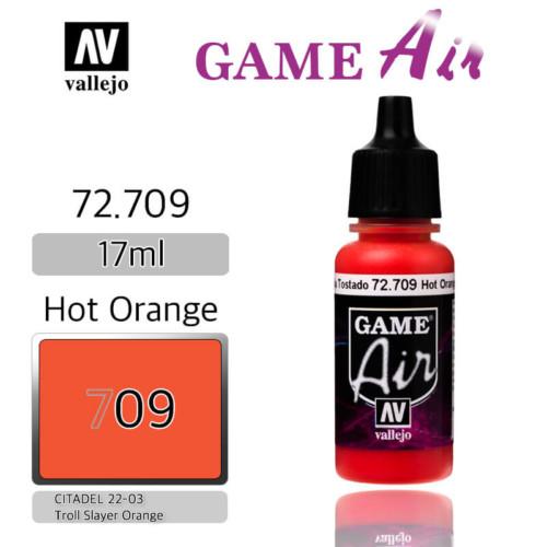 VALLEJO GAME AIR 72.709 HOT ORANGE