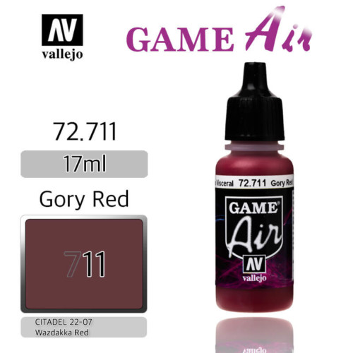 VALLEJO GAME AIR 72.711 GORY RED
