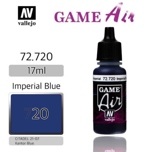 VALLEJO GAME AIR 72.720 EMPERIAL BLUE