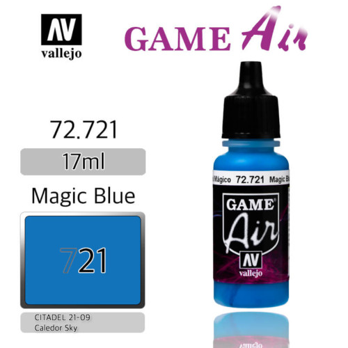 VALLEJO GAME AIR 72.721 MAGIC BLUE