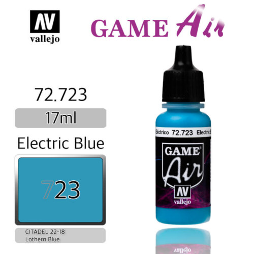 VALLEJO GAME AIR 72.723 ELECTRIC BLUE
