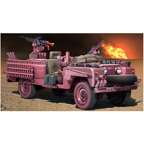6501 Italeri 135 S.A.S Recon Vehicle Pink Panther