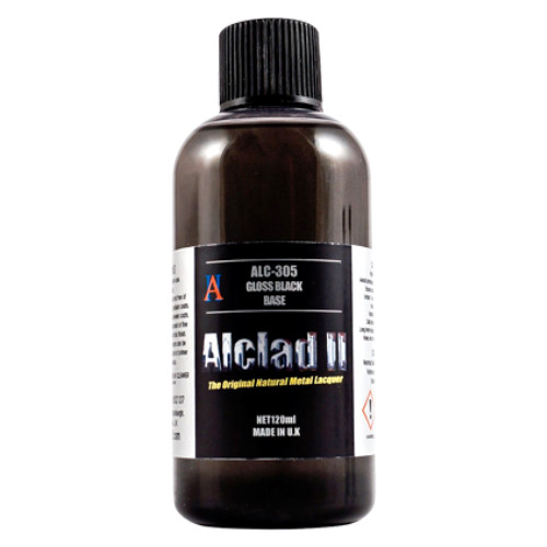 Alclad2 120ml Gloss Black Base ALC-305