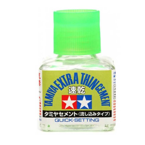 Tamiya 40ml Extra Thin Cement Quick Dry (87182)