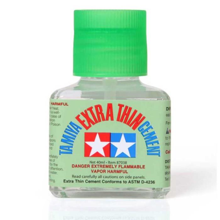 Tamiya 40ml Extra Thin Liquid Glue Cement (87038)
