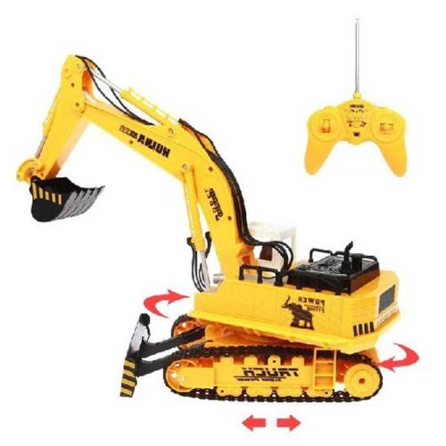 H-Toys Τηλεκατευθυνόμενος Εκσκαφέας με Dozer Blade 116 11CH 27ΜHz RTR (1310s)