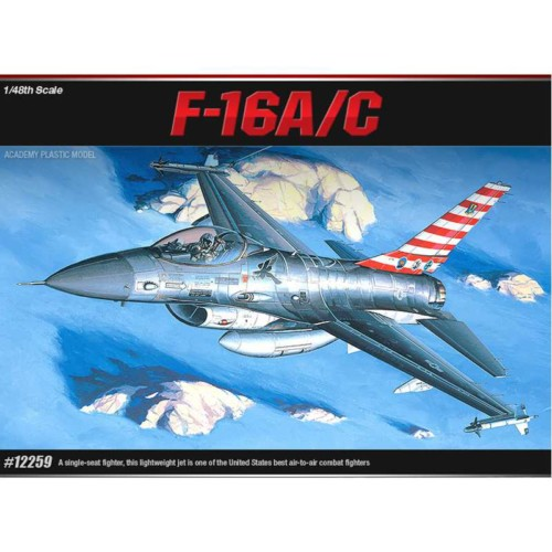 ACADEMY 148 F-16AC + ΔΕΞΑΜΕΝΕΣ (12259A)