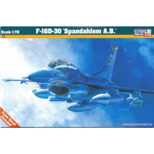 MISTER CRAFT 172 F-16D-30'SPANGDAHLEM A.B. (D-82)