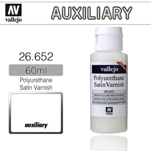 Vallejo 26652 Satin Varnish Polyurethane 60ml