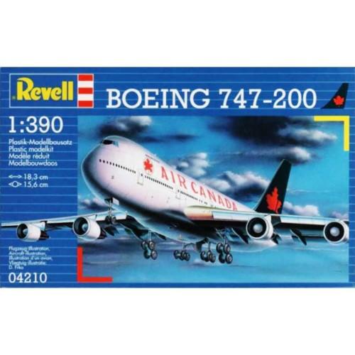 Revell 1/390 Boeing 747-200 (04210)