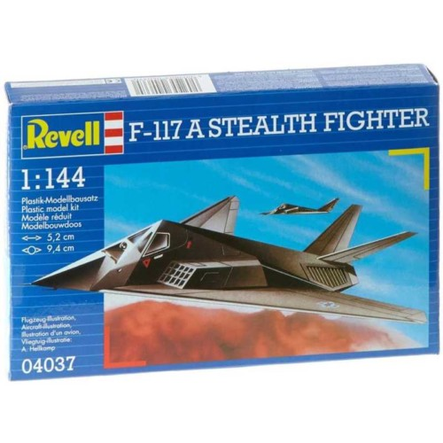 Revell 1144 F-117A Stealth Fighter (04037)